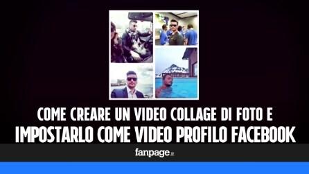 Come creare un video collage di foto e impostarlo come profilo su Facebook
