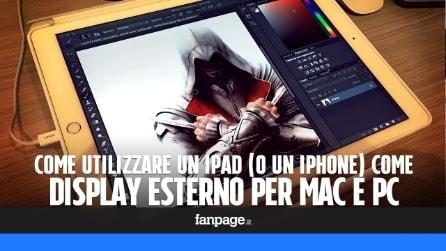 Come utilizzare un iPad (o un iPhone) come schermo aggiuntivo per Mac e PC
