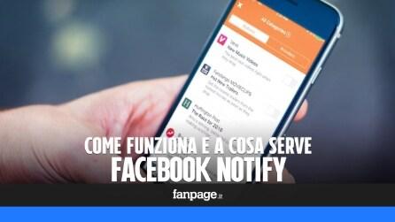 Notify: a che serve e come funziona la nuova app di Facebook