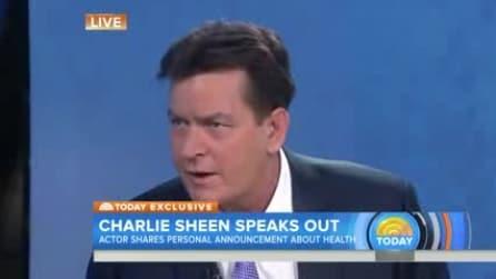 Charlie Sheen ammette in diretta TV di essere sieropositivo da 4 anni