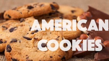 RICETTA COOKIES AMERICANI