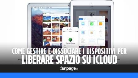 Come gestire e dissociare i dispositivi connessi ad iCloud e liberare spazio