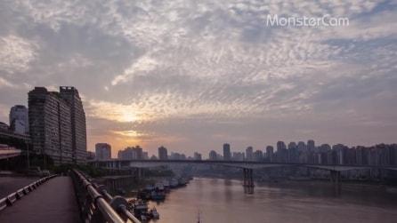Chongqing in timelapse: la metropoli sconosciuta della Cina come non l'avete mai vista