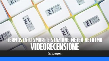 Video recensione termostato e stazione meteo Netatmo: il riscaldamento si controlla con lo smartphone