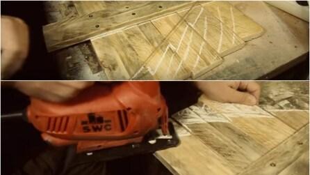 Come realizzare un albero di Natale con le assi di legno, un'idea originale per le feste