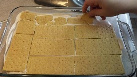 La torta crackers e Nutella: la ricetta insolita ma golosissima