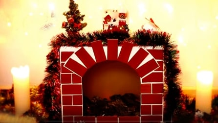 Come creare un finto camino per Natale
