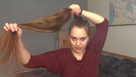 Come pettinare i capelli lunghi