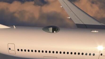 Viaggiare con la testa fra le nuvole: ecco il rivoluzionario Aircraft SkyDeck