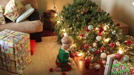 Ecco com'è il Natale con un neonato in casa!