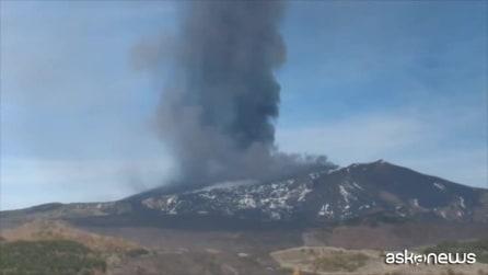 Etna, la più forte eruzione degli ultimi 20 anni