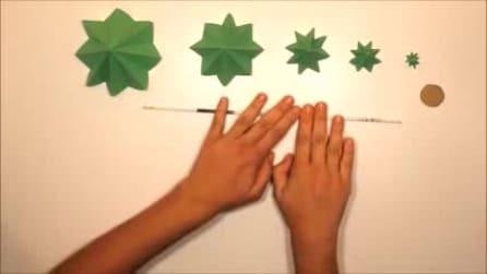 Come fare un albero di Natale di carta riciclata