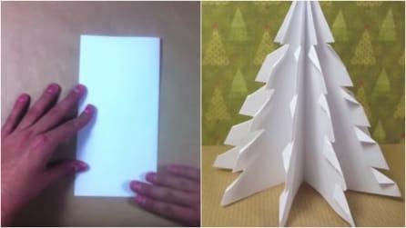 Come realizzare un albero di Natale di carta