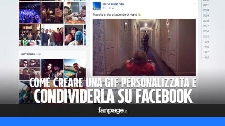 Come creare le GIF animate e condividerle su Facebook