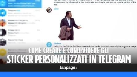 Come creare sticker personalizzati in Telegram