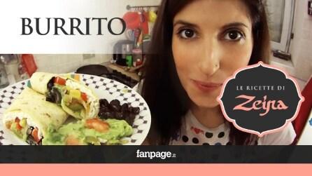 Burrito vegetariano, il piatto tex-mex perfetto per una cena messicana