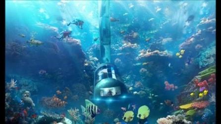 Planet Ocean Underwater Hotel: il primo hotel subacqueo che protegge la flora marina