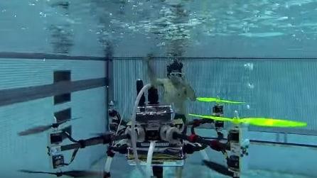 Naviator: il rivoluzionario drone anfibio aria acqua