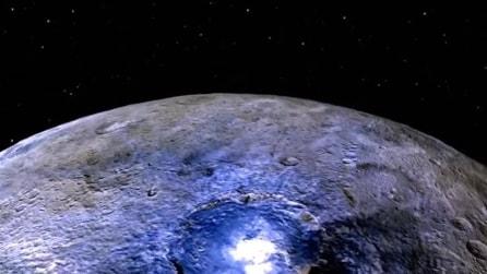 NASA, le immagini del pianeta nano Cerere in rotazione