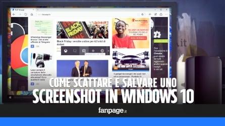 Come scattare uno screenshot in Windows 10