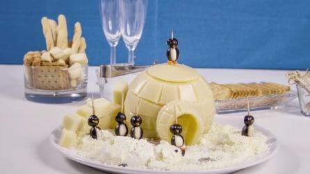 Come realizzare un igloo con un provolone: la ricetta perfetta per l'inverno