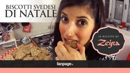 Biscotti di Natale Svedesi, la ricetta per realizzarli passo passo