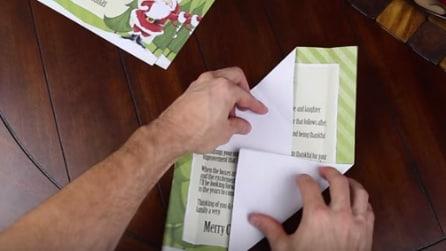 Come piegare un foglio a busta, trasformandolo in una lettera