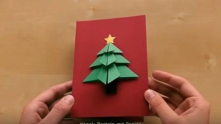 Come realizzare un biglietto di Natale in 3D