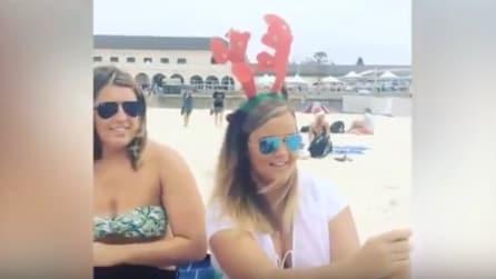Sydney, il Natale si festeggia in spiaggia