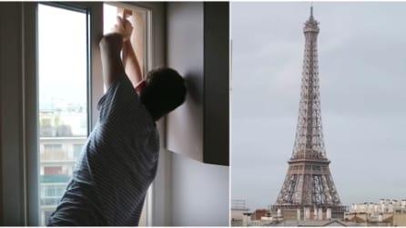 La migliore vista sulla Torre Eiffel? Ecco l'idea geniale