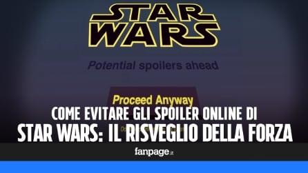 Come evitare gli spoiler di Star Wars: il risveglio della Forza