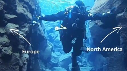 Cosa si prova a nuotare fra due continenti? Questo sub l'ha fatto e non vede l'ora di mostrarvelo
