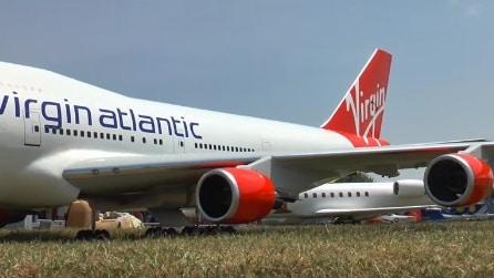 L'aereo radiocomandato più grande del mondo è un Boeing 747-400 Virgin Atlantic