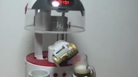 Asahi Robocco BeerBo: ecco il robot che serve la birra