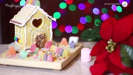Come creare una casetta fatta di biscotti