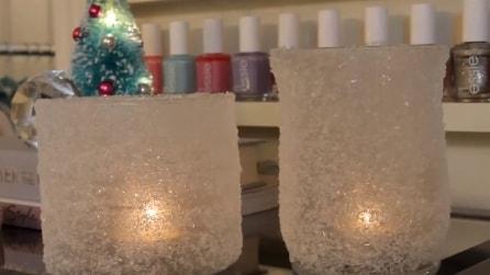 Come fare un portacandele natalizio fai da te