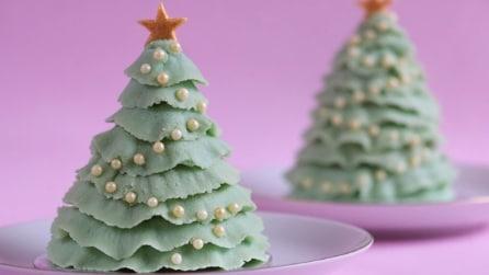Come realizzare una torta a forma di albero di Natale