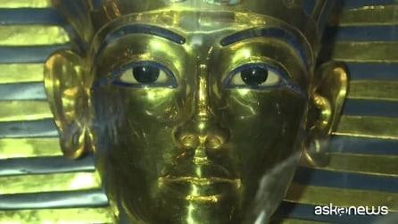 La maschera di Tutankhamon torna al Museo del Cairo dopo il restauro