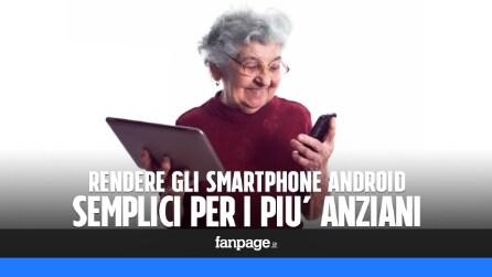 Android: rendere ogni smartphone semplice da utilizzare anche per i più anziani