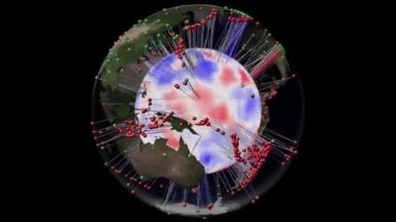 Ecco la tomografia della Terra: un pianeta nel pianeta