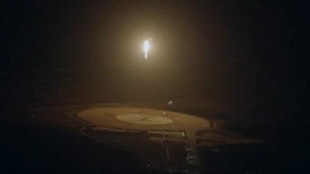 Falcon 9, l'atterraggio del primo stadio