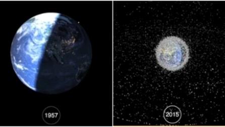 Ecco cosa è successo nello spazio dal 1957 ad oggi