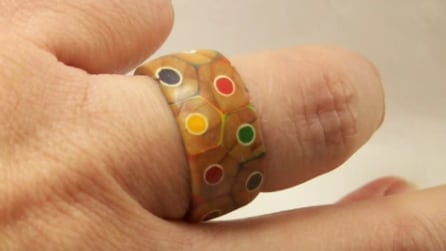 Come realizzare un anello con i pastelli