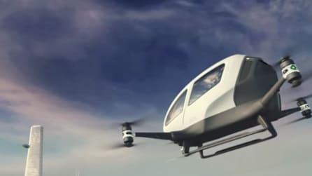 Il maxi drone che può trasportare un passeggero