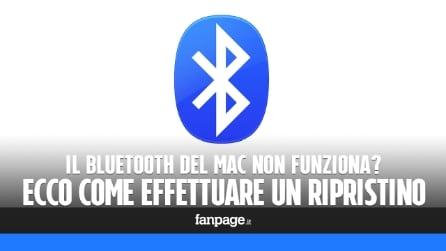 Bluetooth rotto su Mac? Come ripristinarlo se non funziona