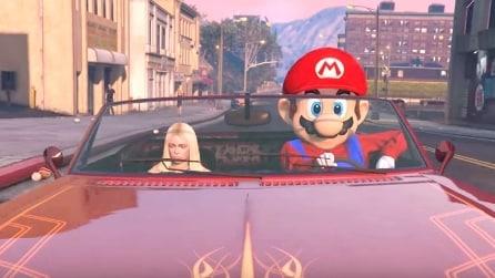 Come si comporterebbe Super Mario in GTA? La trasformazione è sorprendente
