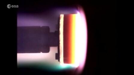 Cosa succede quando una navicella spaziale tocca l'atmosfera terrestre?