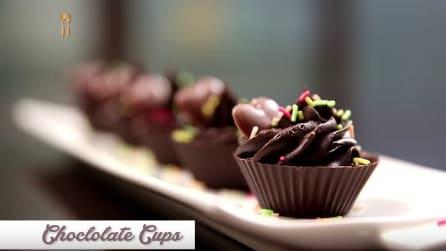 Tazzine di cioccolato: un dolce speciale per le feste