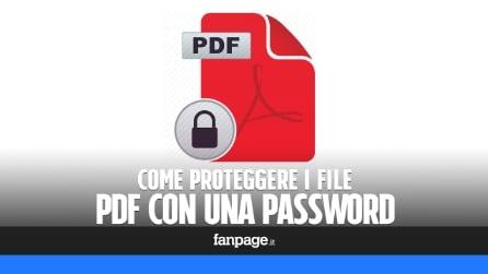 Proteggere i PDF con una password in OS X