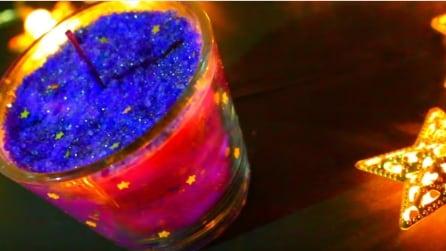 Come realizzare delle candele effetto galassia